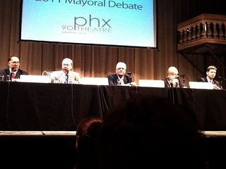 Phoenix-mayors-debate
